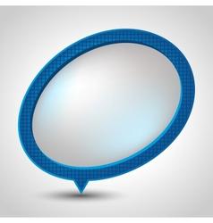 Modern Speech Bubble background vector image