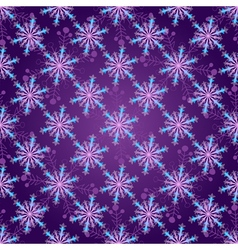 Seamless dark violet christmas pattern vector