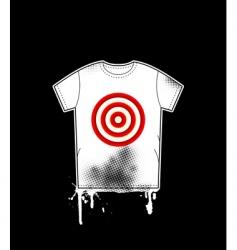 shirt template vector image