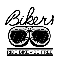 ride bike vector image vector image