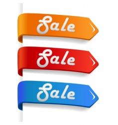 sale arrow vector image vector image