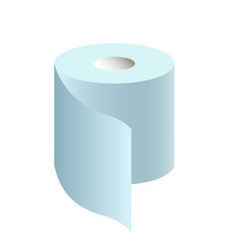 a roll toilet paper vector image