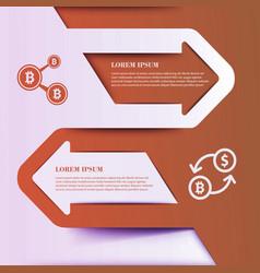 business economy infographic elements vector image