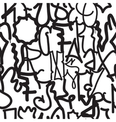 fashion graffiti hand drawing texture vector image