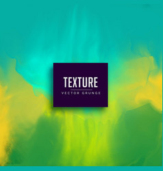Green and blue abstract watercolor texture vector