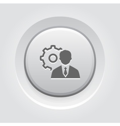 Management Icon Business Concept vector image