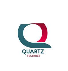 Quarts technics sign vector