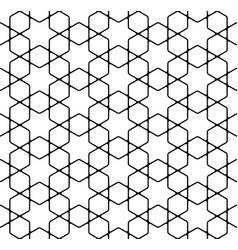 seamless simple geometric pattern vector image