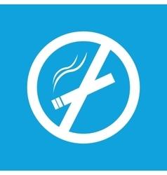 Smoking fobidden icon simple vector image