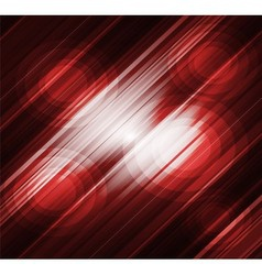 Straight lines abstract red background vector image