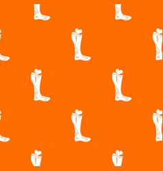 Zombie leg pattern seamless vector