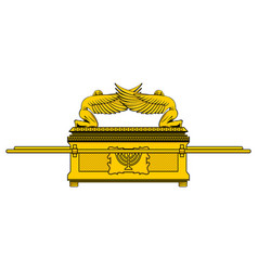 The ark of the covenant vector