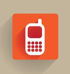 celphone vector image
