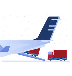 air logistics vector image