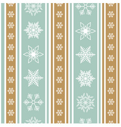 color christmas background with pattern vector image