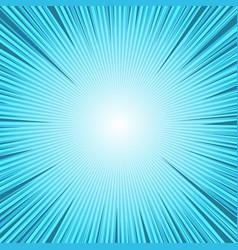 Comic book blue bright vivid template vector