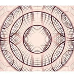 Geometric circles vector
