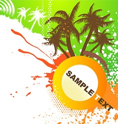 Grunge Summer Design vector