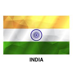 indian indpenedence day design vector image