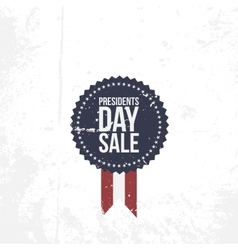 Presidents Day Sale circle Emblem vector image