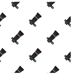 Professional objective pattern flat vector