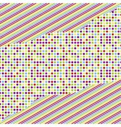 Seamless pattern - polka dots vector