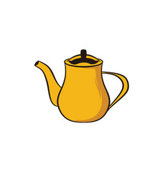 tea pot logo designs inspiration vector image