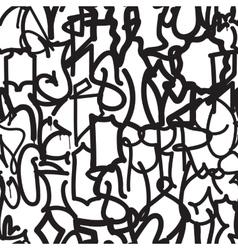 Fashion graffiti hand drawing texture vector