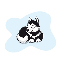 husky vector image vector image