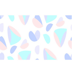 seamless triangle scandinavian pattern textile vector image