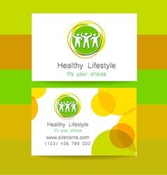 sport fitness logo vector image