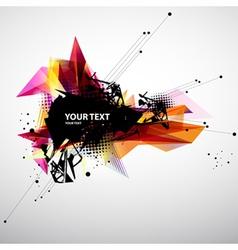 Abstract modern banner vector