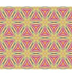 Colorful triangular mosaic vector image