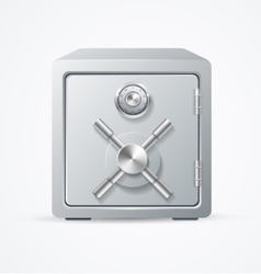 Security Metal Safe vector image
