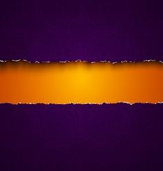 Torn paper purple vector