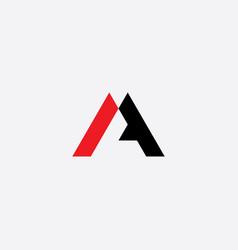 A sign logo letter icon element symbol vector