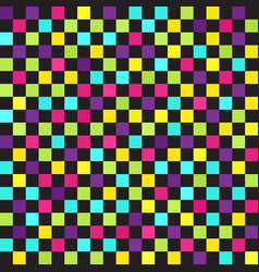 Checkered pattern seamless vector