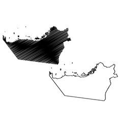Emirate abu dhabi emirates united arab vector