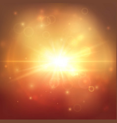 Golden explostion abstract background vector