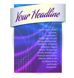 Infographics banner vector