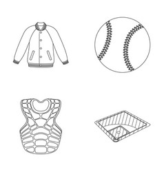 Playground jacket ball protective vest vector