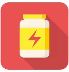 Sport Nutrition icon vector image