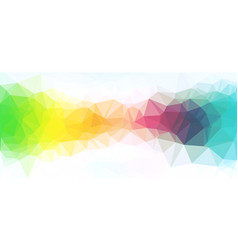 Colorful abstract polygonal background vector