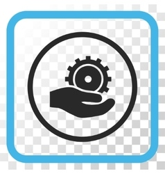 Development Service Icon In a Frame vector image