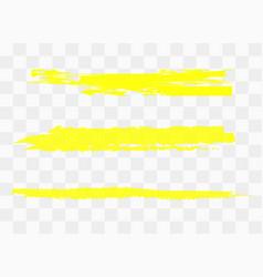 markers blots vector image