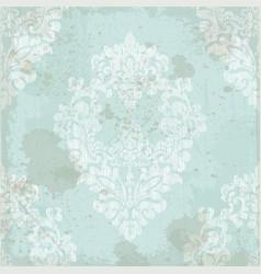 vintage baroque pattern textured ornament vector image