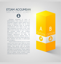 Web business infographic template vector
