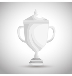 golf club championship trophy vector image