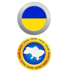 button as a symbol of Ukraine vector image
