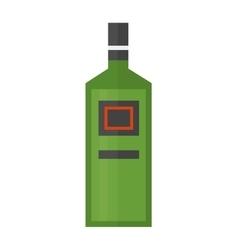 rum bottle vector image